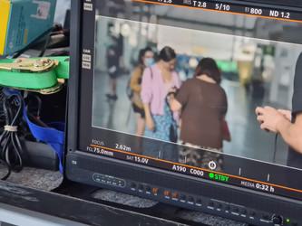 Rodaje película García y García - Ana Murugarren