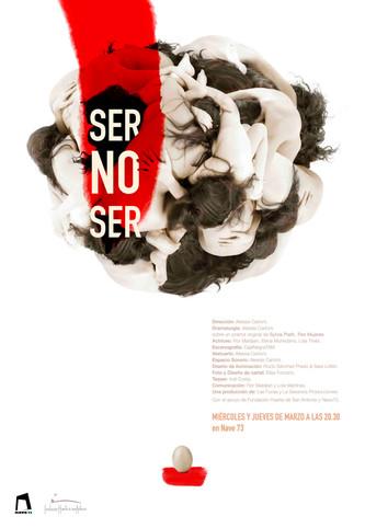 Sesión fotográfica y cartel - Ser No Ser