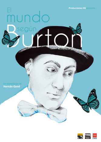 Diseño Cartel y programa de mano El Mundo según Burton