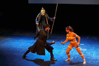Premio a mejor pieza de esgrima. VII International Festival of Stage Fencing - Silver Sword. (Moscú)