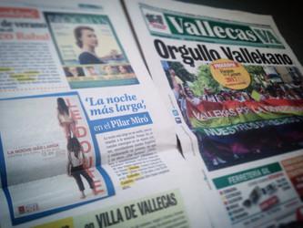 Le Doute ESTRENA y aparece en el periódico de Vallecas