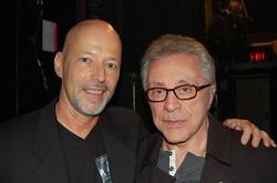 With Frankie Valli