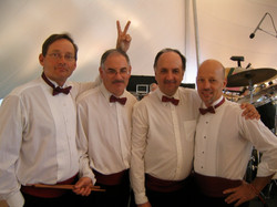 With The Boston Pops Percussionists