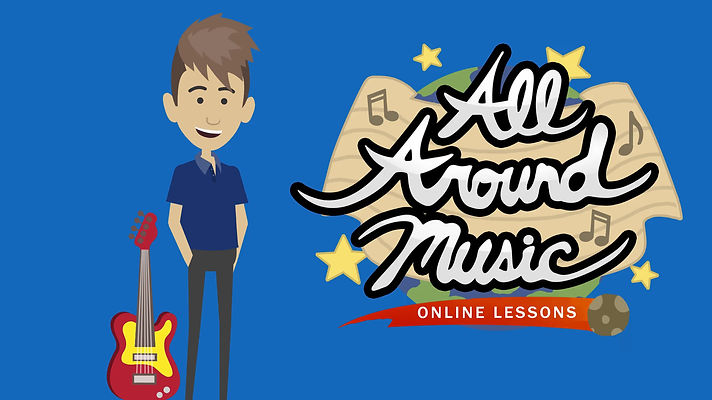All Around Music Online Lessons Explainer Video