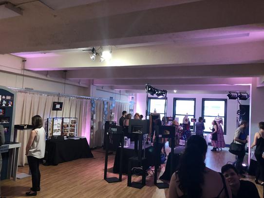 Senior Showcase Set Up