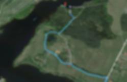 Mapa Staňkov chatový areál Atlas