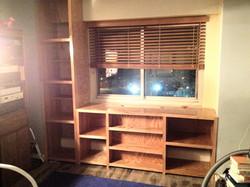 Custom Installed Shelves