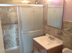 Bathroom Sliding Doors Installation
