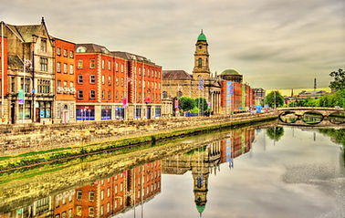 View Of Dublin With The River Liffey - I