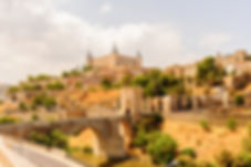 Paniramic view of Toledo, Spain, UNESCO