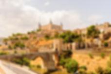 Paniramic view of Toledo, Spain, UNESCO