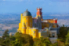 Pena Palace in Sintra - Portugal - archi