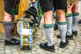 part of a typical bavarian musician - ph