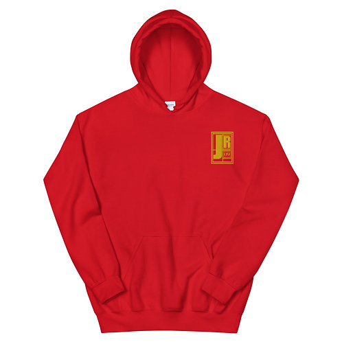 Just Rock Embroidered Hoodie