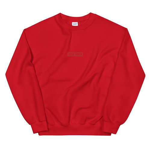 Embroidered JUST ROCK Crewneck