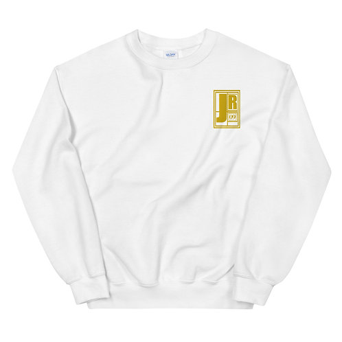 Embroidered Just Rock Logo Crewneck