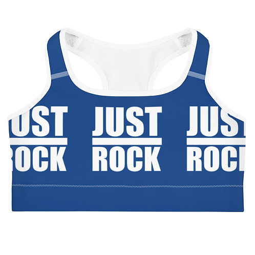 Royal Blue Just Rock Sports Bra