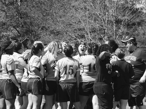 THE GIRLS OF TOWSON RUGBY