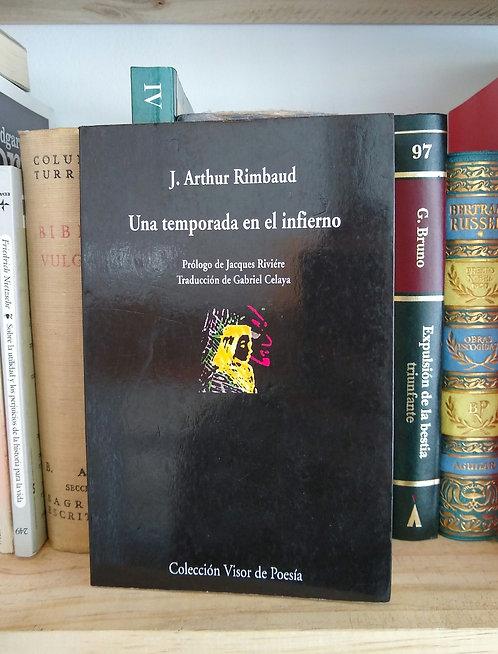 Una temporada en el infierno. J. Arthur Rimbaud