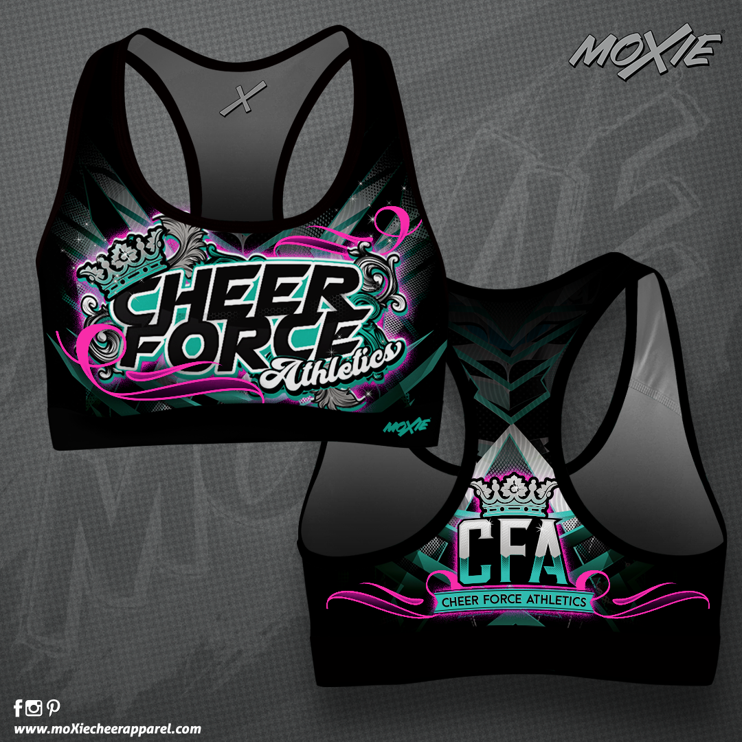 Cheer Force Athletics SPORT BRA-MOXIE CH