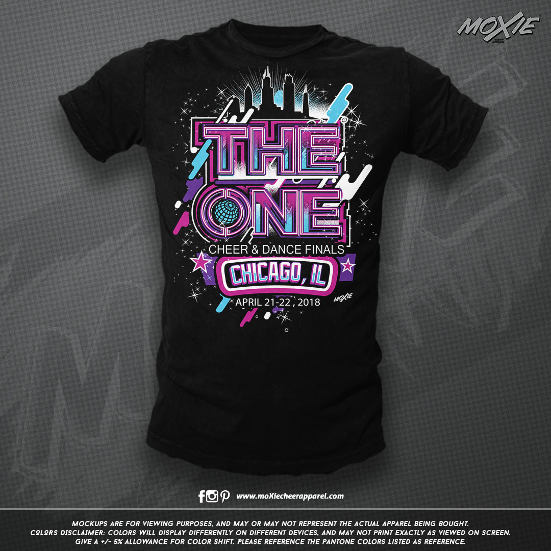 THE ONE Chicago 18 TSHIRT-moXie PROOF