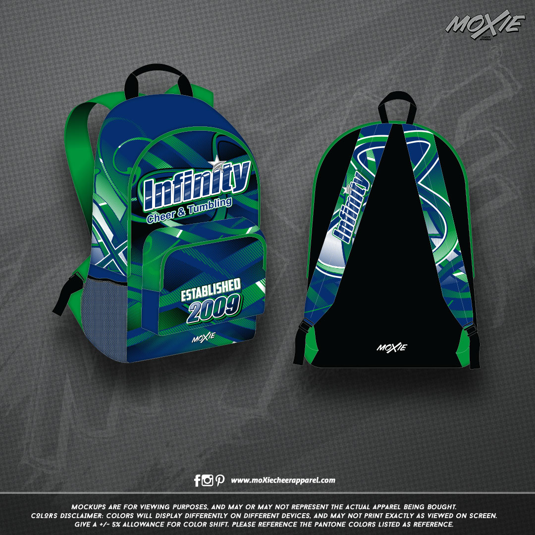 Infinity-Cheer & Tumble-BACKPACK-moXie P