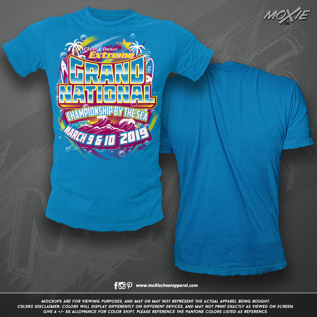 CDE Grand Natls by the Sea 19 TSHIRT-moX