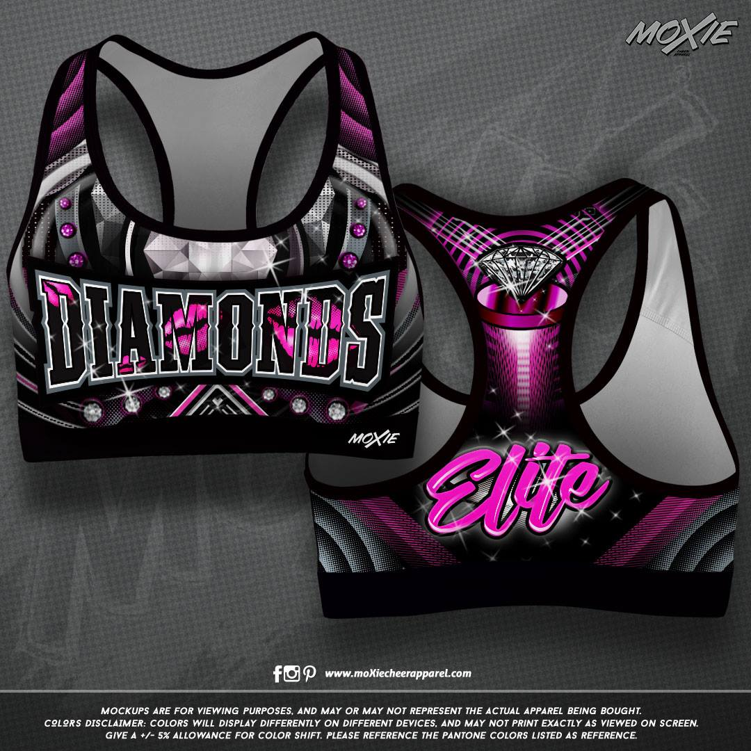 Diamond Elite SPORT BRA-moXie PROOF
