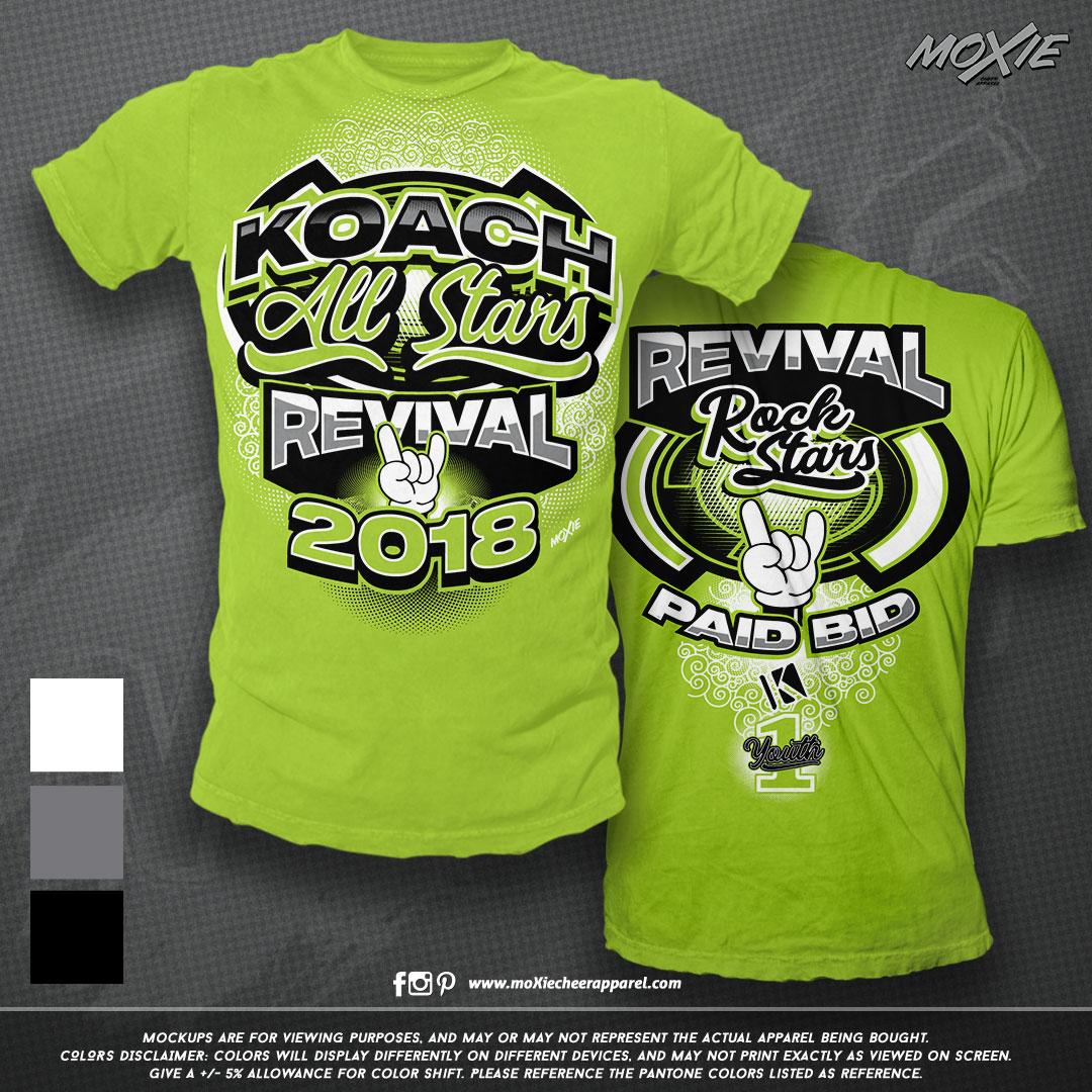 Koach Revival Summit TEE-TANK-moXie PROO