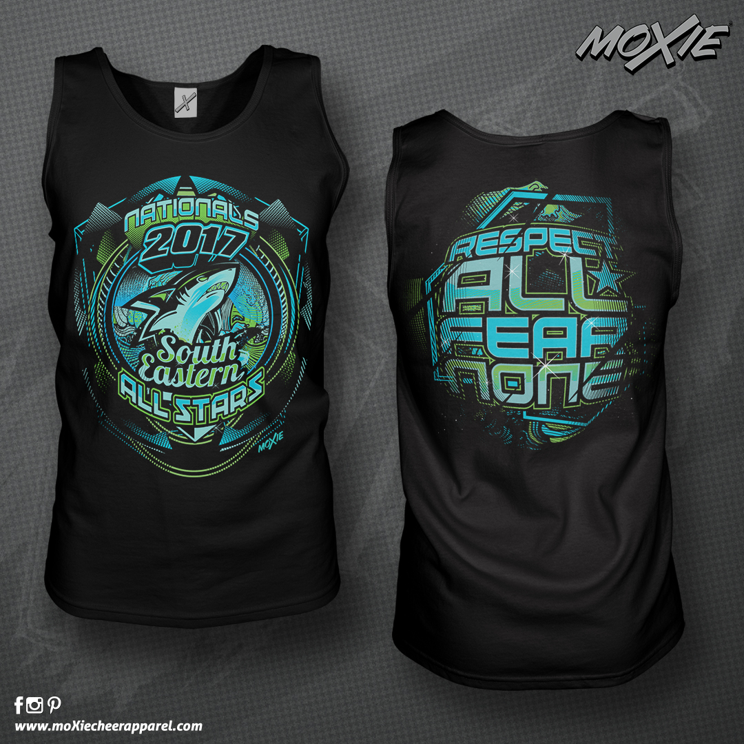 SEA NATIONALS 2017 TANK TOP-moXie cheer