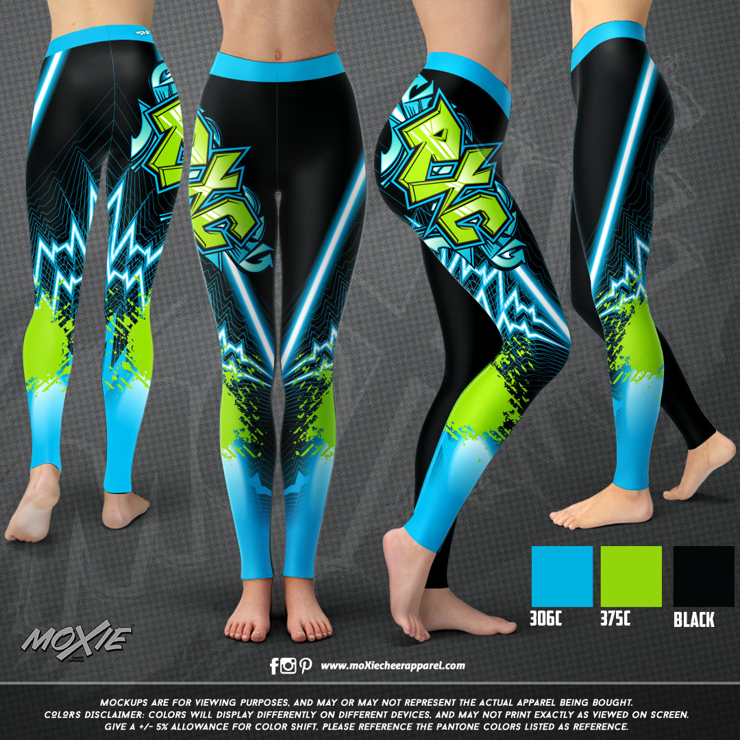 Riot Xtreme Cheer LEGGING-moXie PROOF