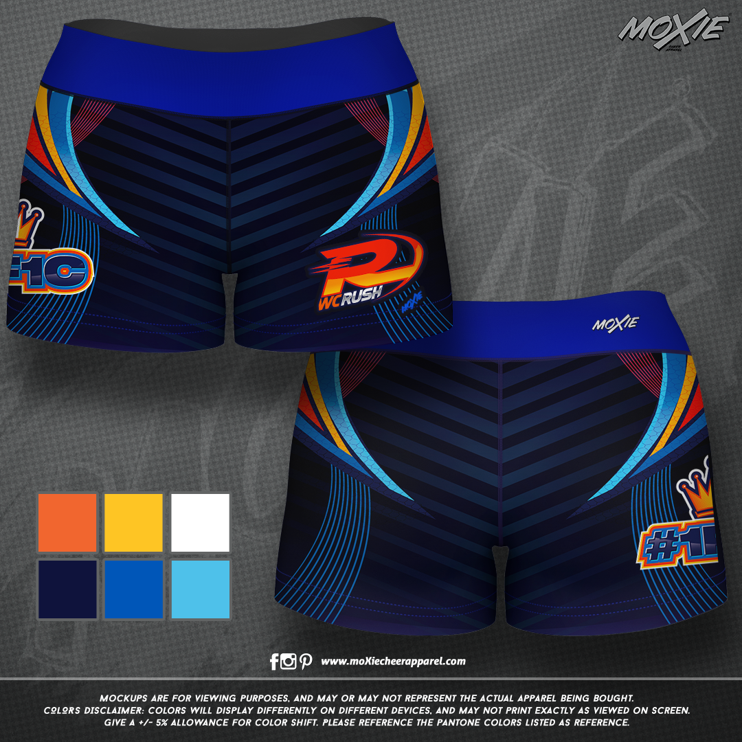 West Coast Rush-SHORTS SET 2-moXie PROOF