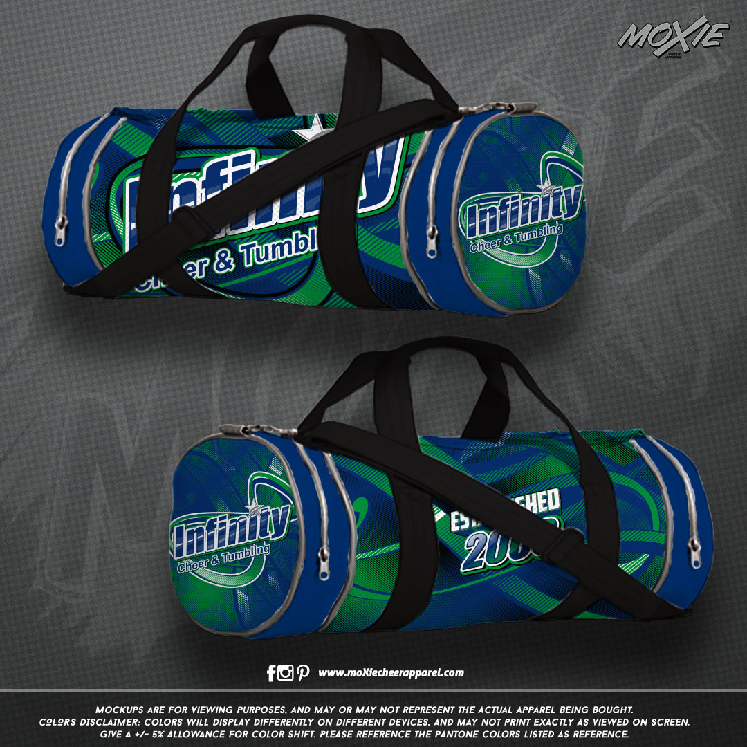 Infinity-Cheer & Tumble-GYM BAG-moXie PR