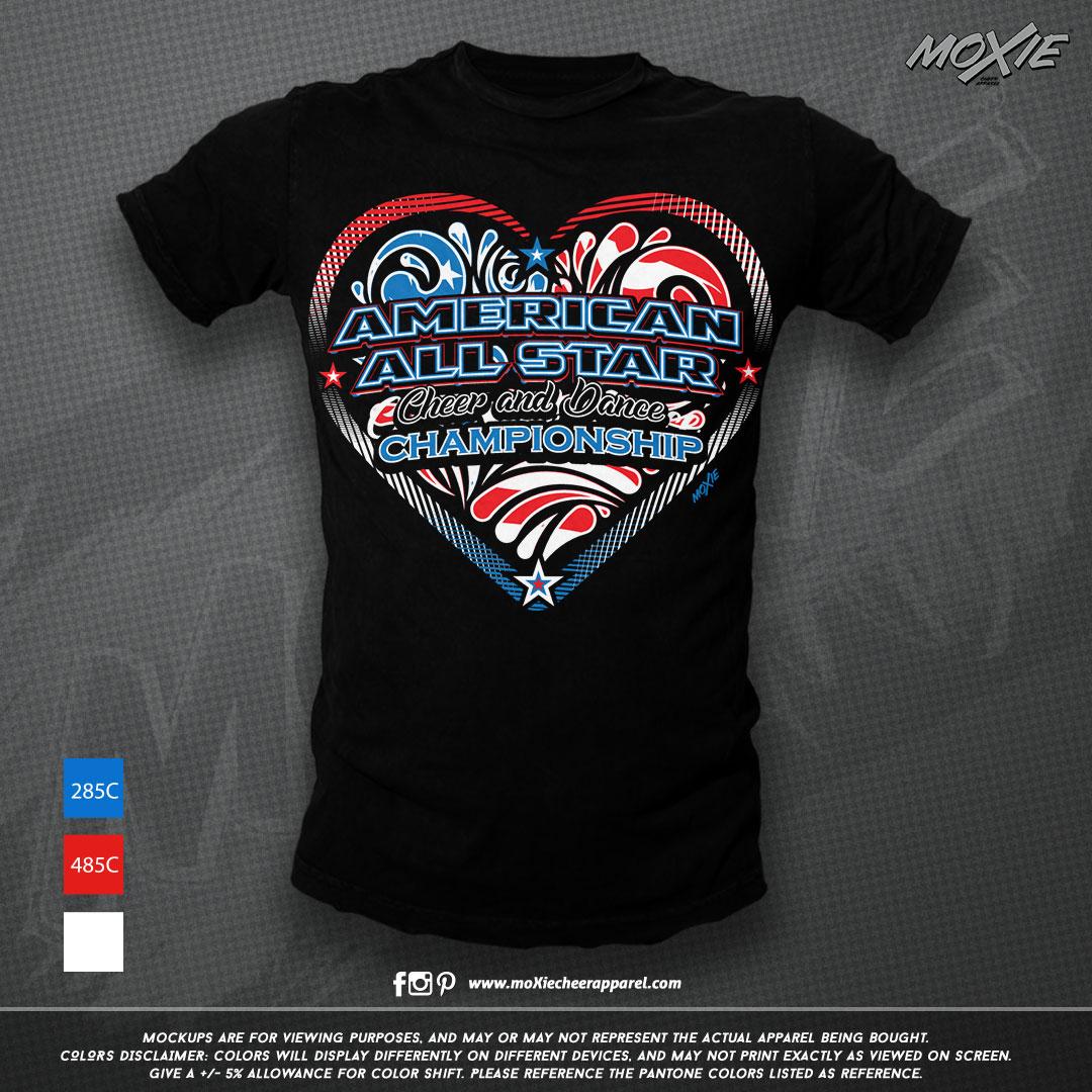 American Allstars TSHIRT-moXie PROOF