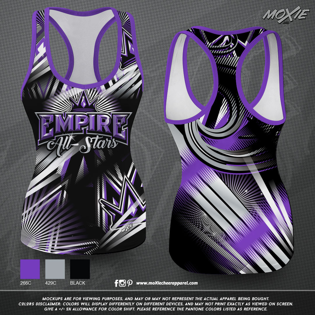 Empire-Cheer-TANK TOP-moXie PROOF