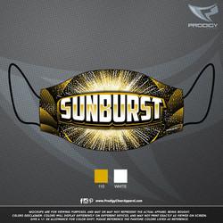 Sunburst FACEMASK MOCKUP