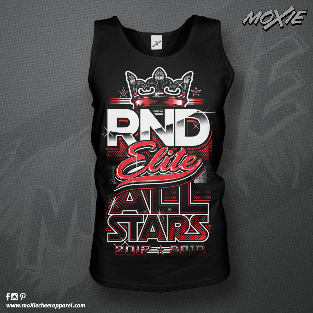 RND Elite-TANK TOPS-moXie cheer apparel