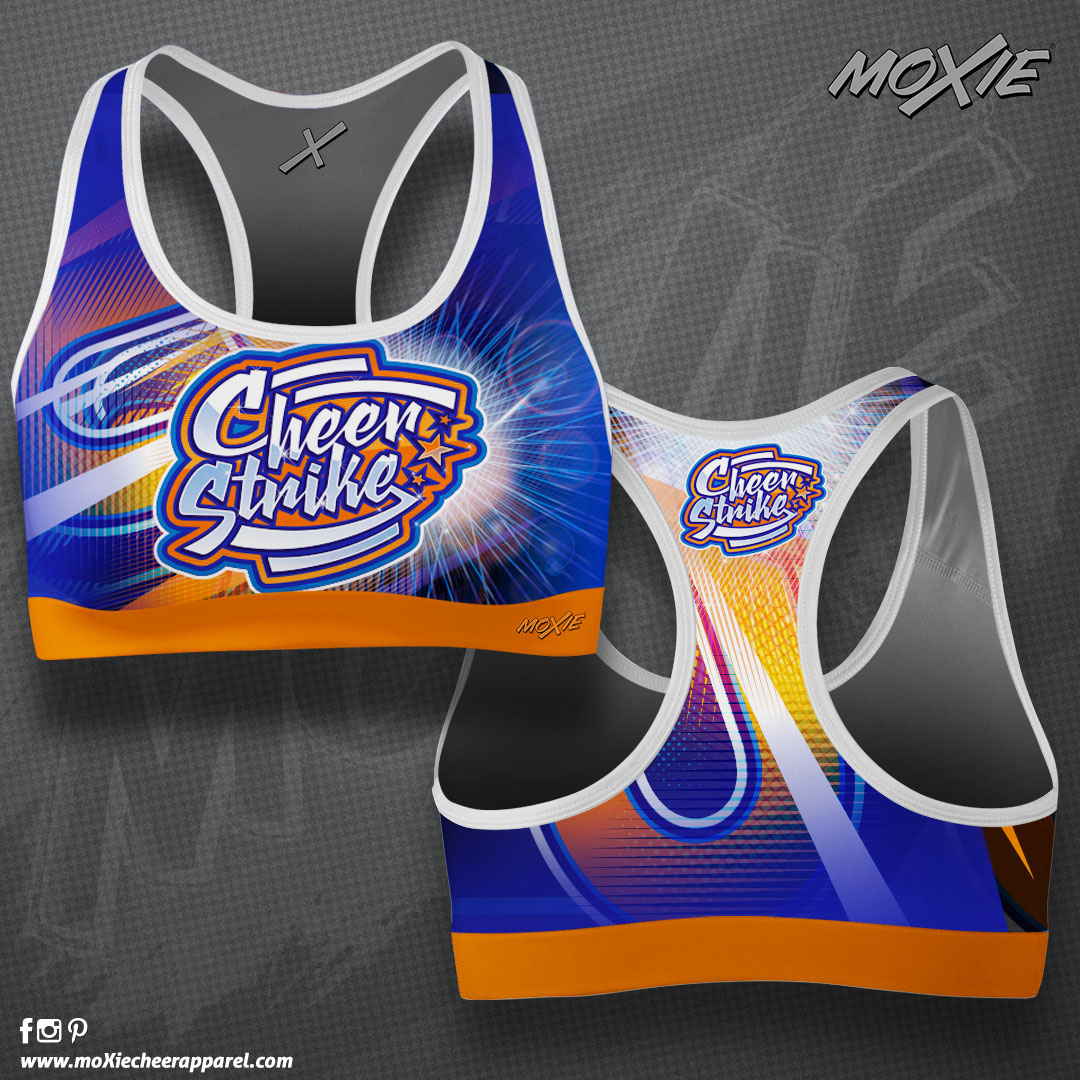 Cheer-Strike-SPORT-BRA-MOXIE CHEER APPAR