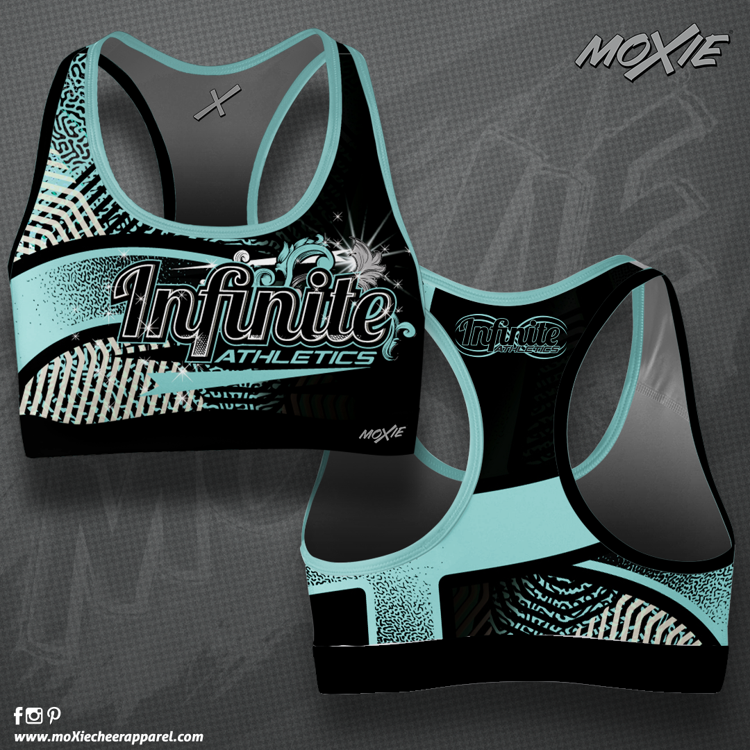 Infinite Athletics SPORT BRA-MOXIE CHEER