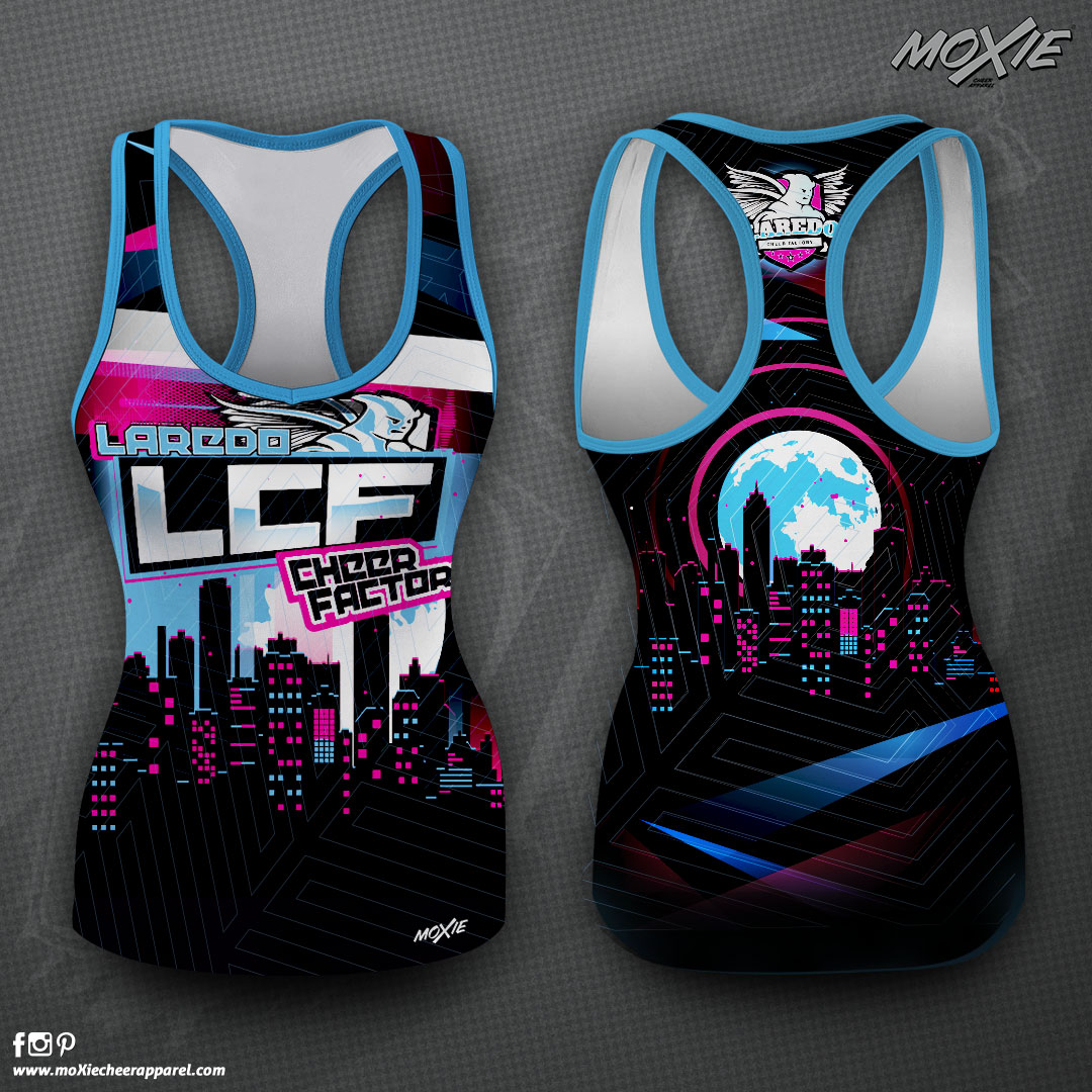 Laredo CF-TANK TOP-moXie Cheer Apparel P