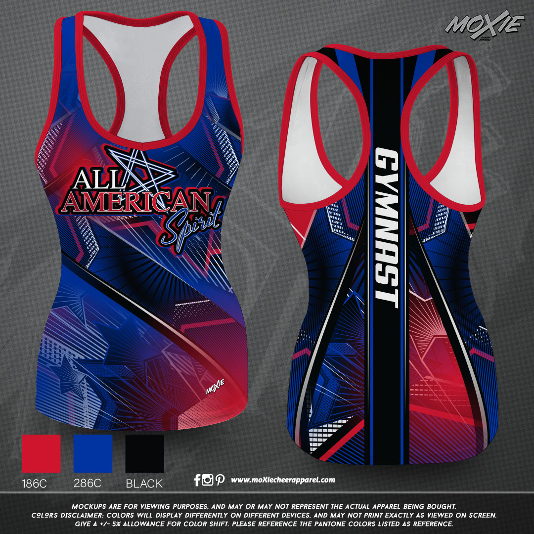 All-American-Spirit-GIRLS TANK-moXie PRO