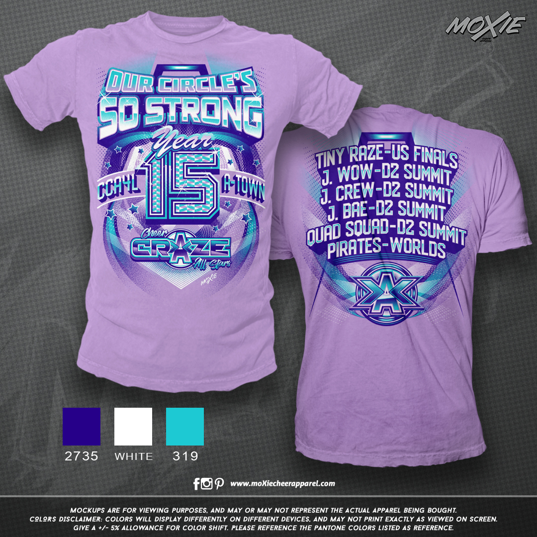 Cheer Craze TSHIRT-moXie CONCEPT PROOF