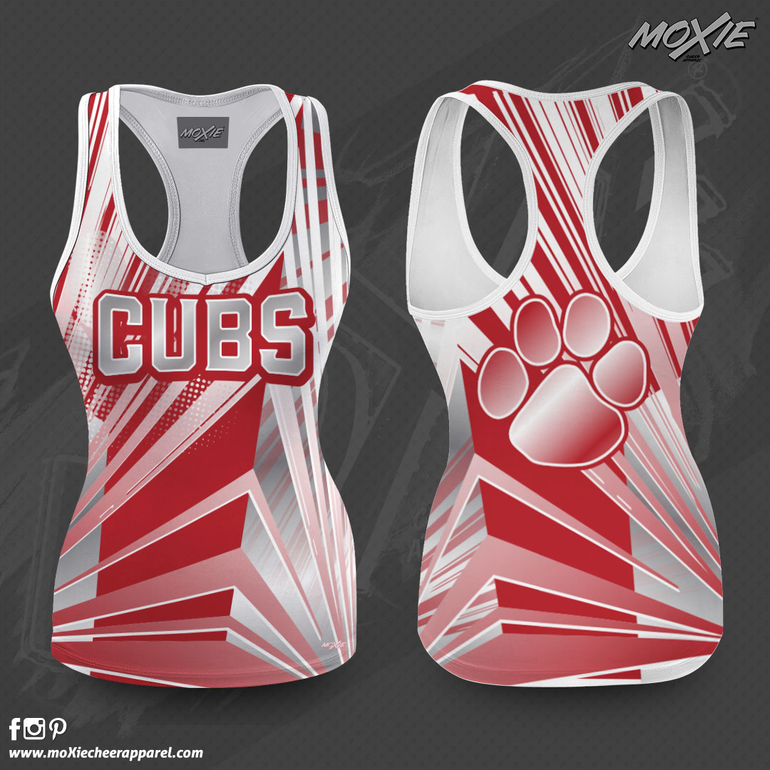 Westside Cubs_TANK TOP_moXie Cheer Appar