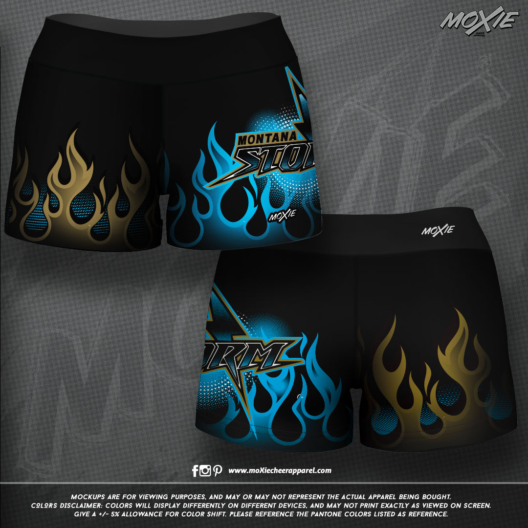 Montana Storm Dance-SHORTS-moXie PROOF