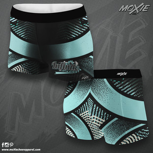 Infinite Athletics SHORTS-MOXIE CHEER AP