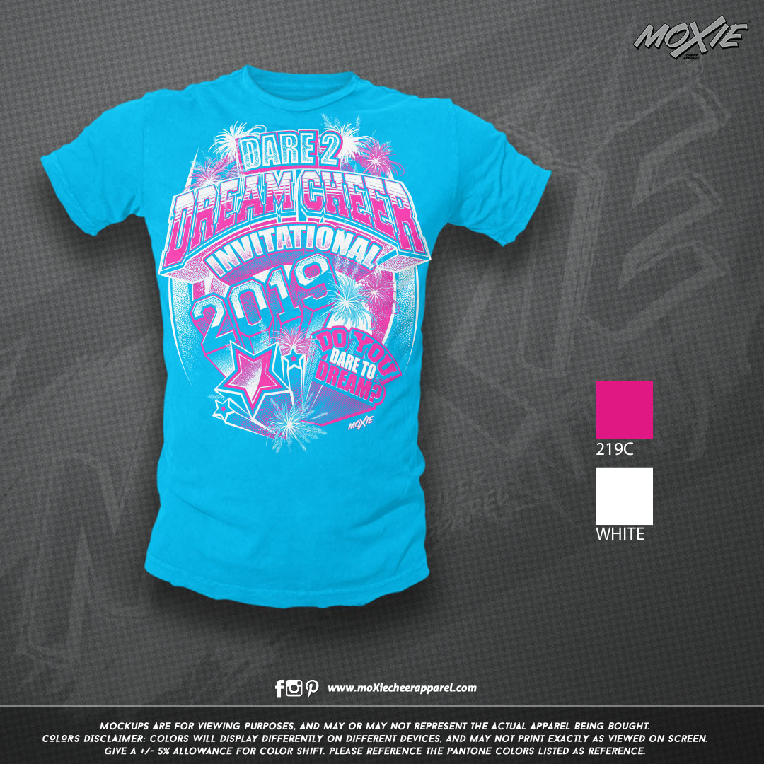 Dream Athletics Dare Dream TSHIRT-moXie