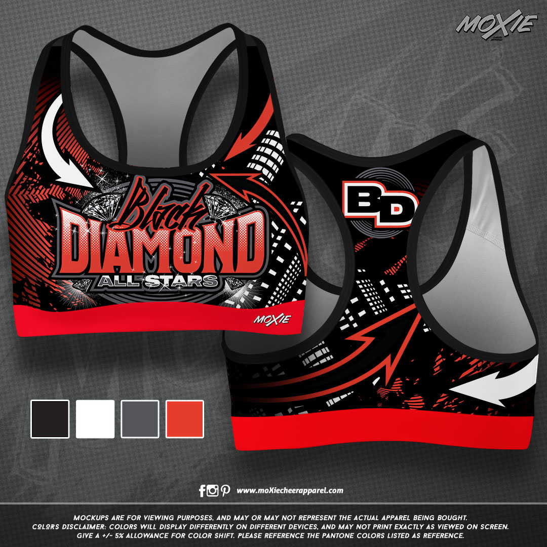 Black Diamond SPORT BRA 1-moXie PROOF