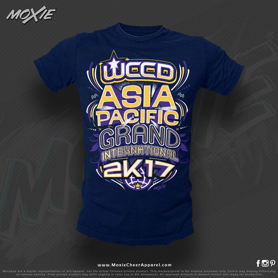 WCCD APGI TSHIRT-moXie cheer apparel PRO
