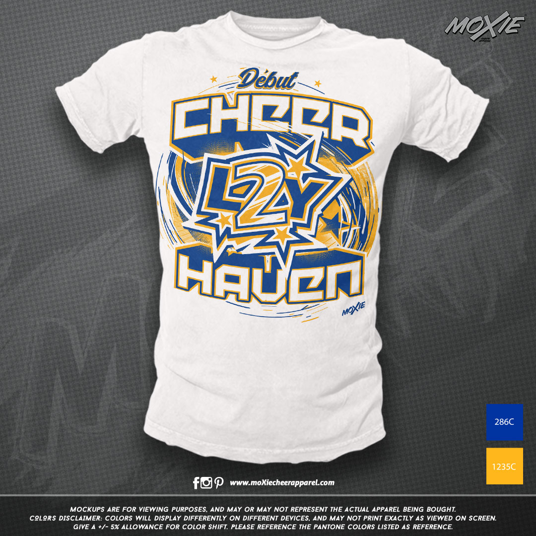 Cheer Haven Allstars TSHIRT-moXie PROOF.