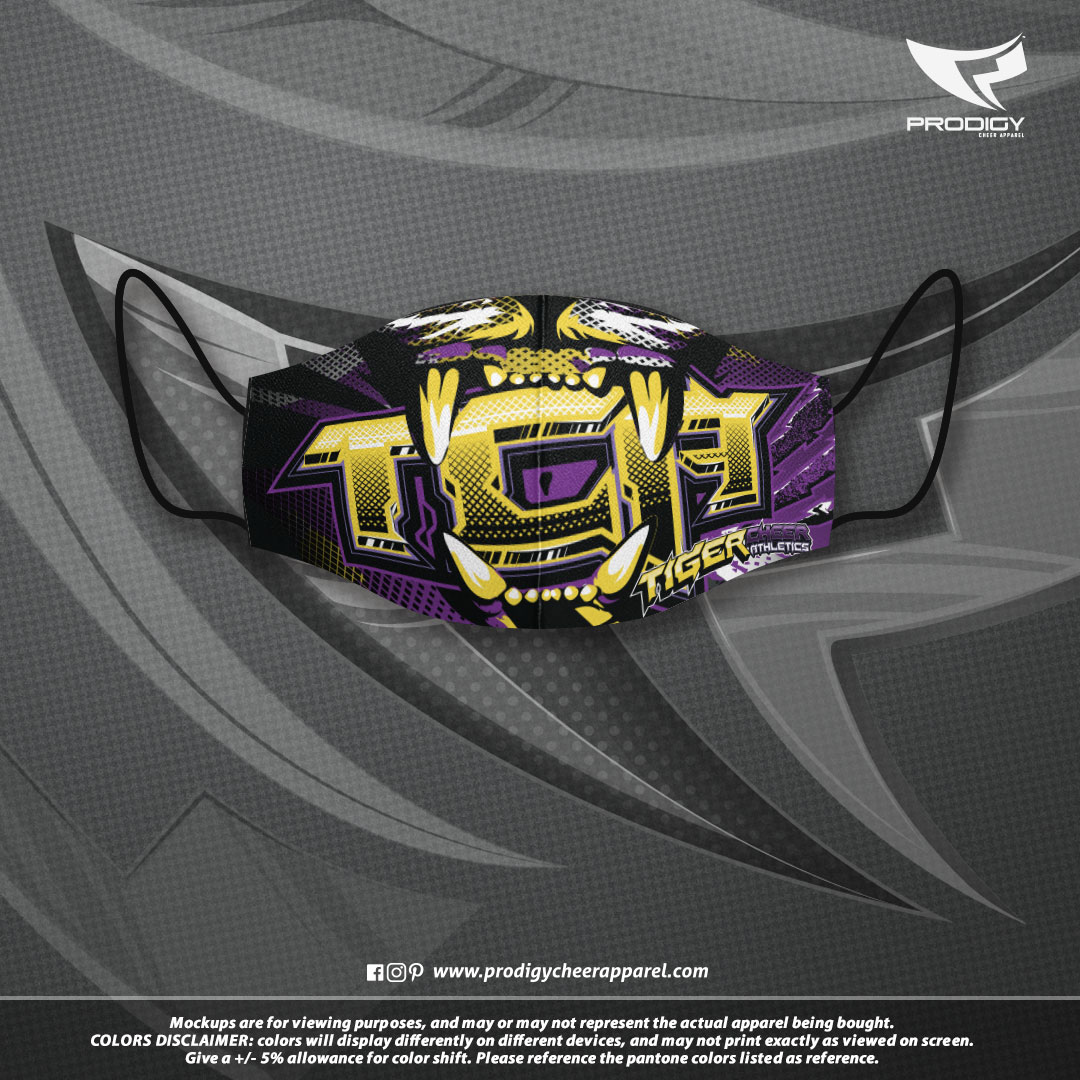 Tiger Cheer MASK-prodigy PROOF